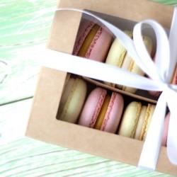 Французское пирожное Macarons ассорти 12 шт