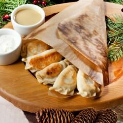 Пермские «Посикунчики» с бараниной (9 шт.) и двумя соусами