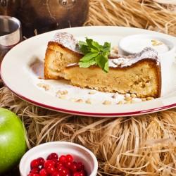Пирог с кедровым орехом