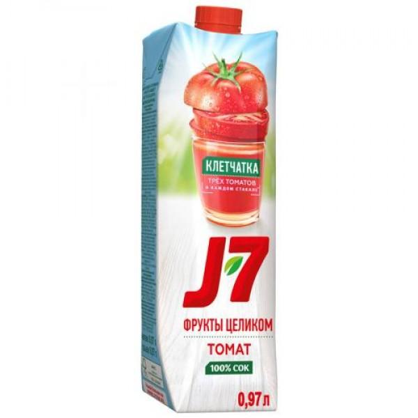 Сок J7 томат с мякотью