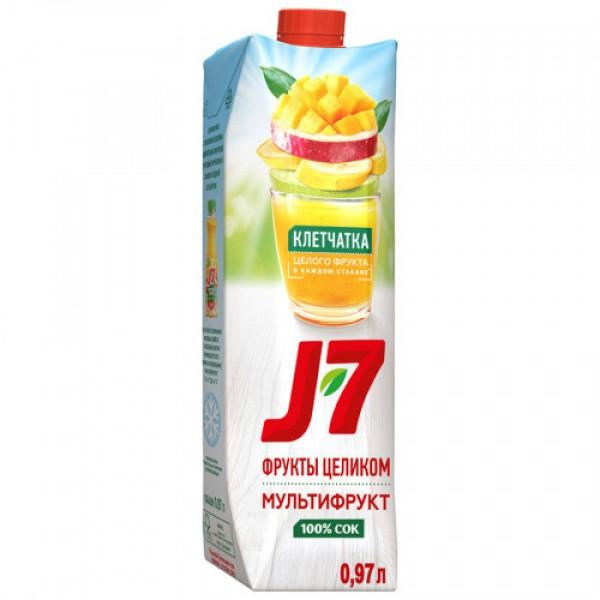 Сок J7 мультифрукт с мякотью
