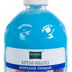 Мыло жидк Морской Прибой 500мл,дозатор Domix Green