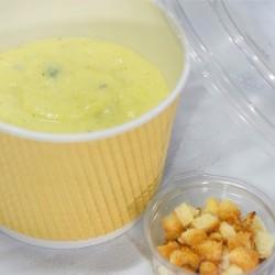 Крем-суп из цветной капусты с курицей