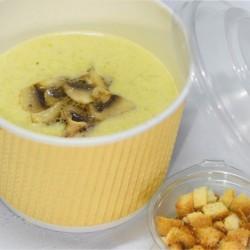 Крем-суп грибной с цуккини