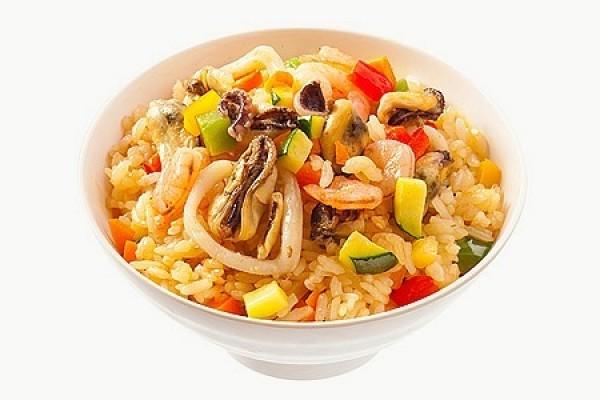 Рис острый с морепродуктами