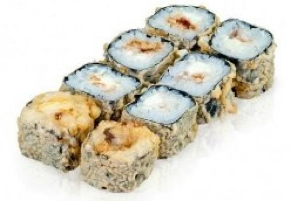 Mini темпура с лососем