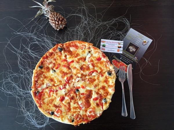 малая пицца по гавайский